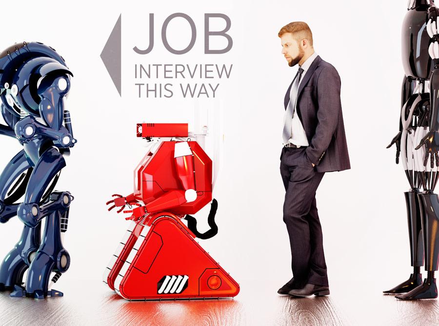 Robot AI job line