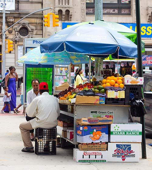 Green Cart vendor