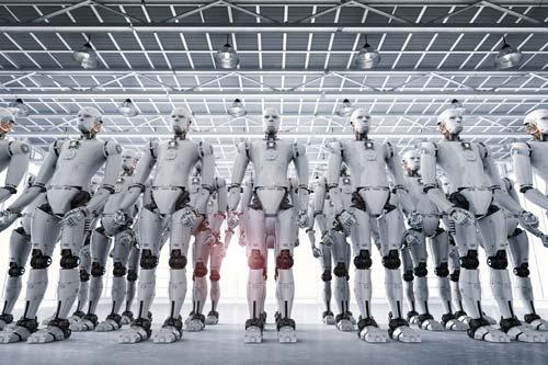 Robot Phalanx