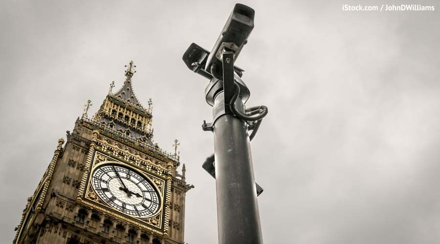 London CCTV surveillance