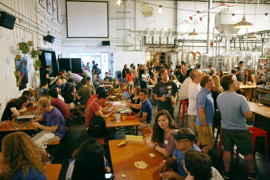 Aeronaut Brewing Game Night
