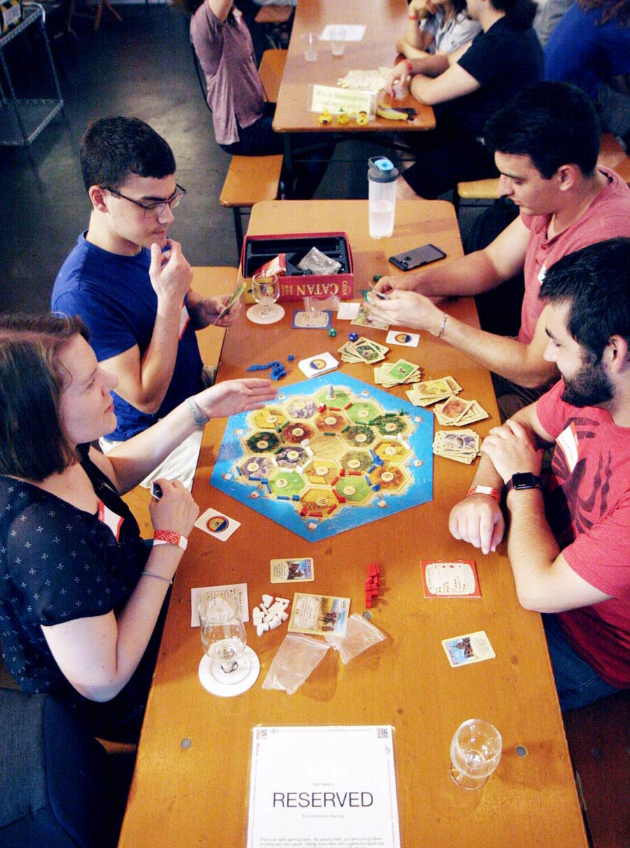 Playing Catan